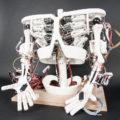 Изготовление робота. Создание основания или каркаса робота.