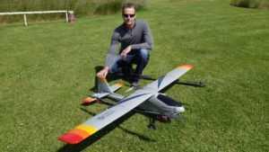 Квадрокоптер Silverlit Самолет Спид Глайдер на радиоуправлении