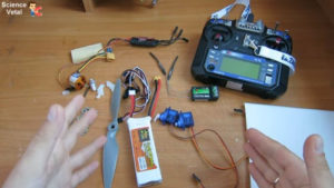 Как изготовить самолет на радиоуправлении