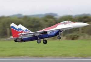 Радиоуправляемый самолет турбина