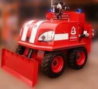 Новинки пожарной робототехники
