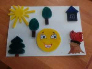 Аппликация из фольги «Робот» для детей — Все для развития ребенка