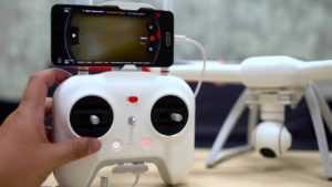 Скоростной дрон модели Hubsan FPV X4 Plus H107D