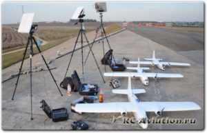 Радиоуправляемый самолет с видеокамерой