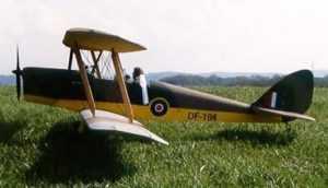 Чертежи авиамоделей из бальзы. —  Паркфлаер