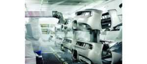 АЛЬФА ИНЖИНИРИНГ: Покрасочные роботы FANUC. Роботы для покраски. Покраска роботами. Купить покрасочный робот манипулятор по доступной цене.